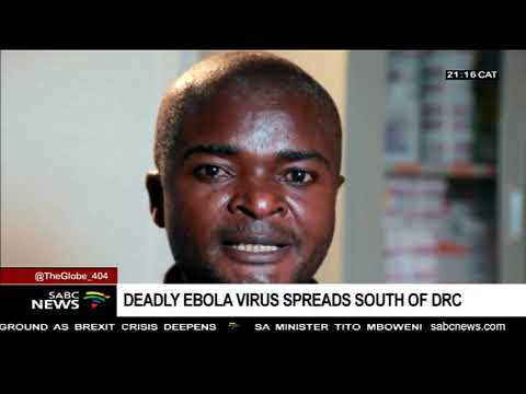 Ebola outbreak spreads to the south of DRC