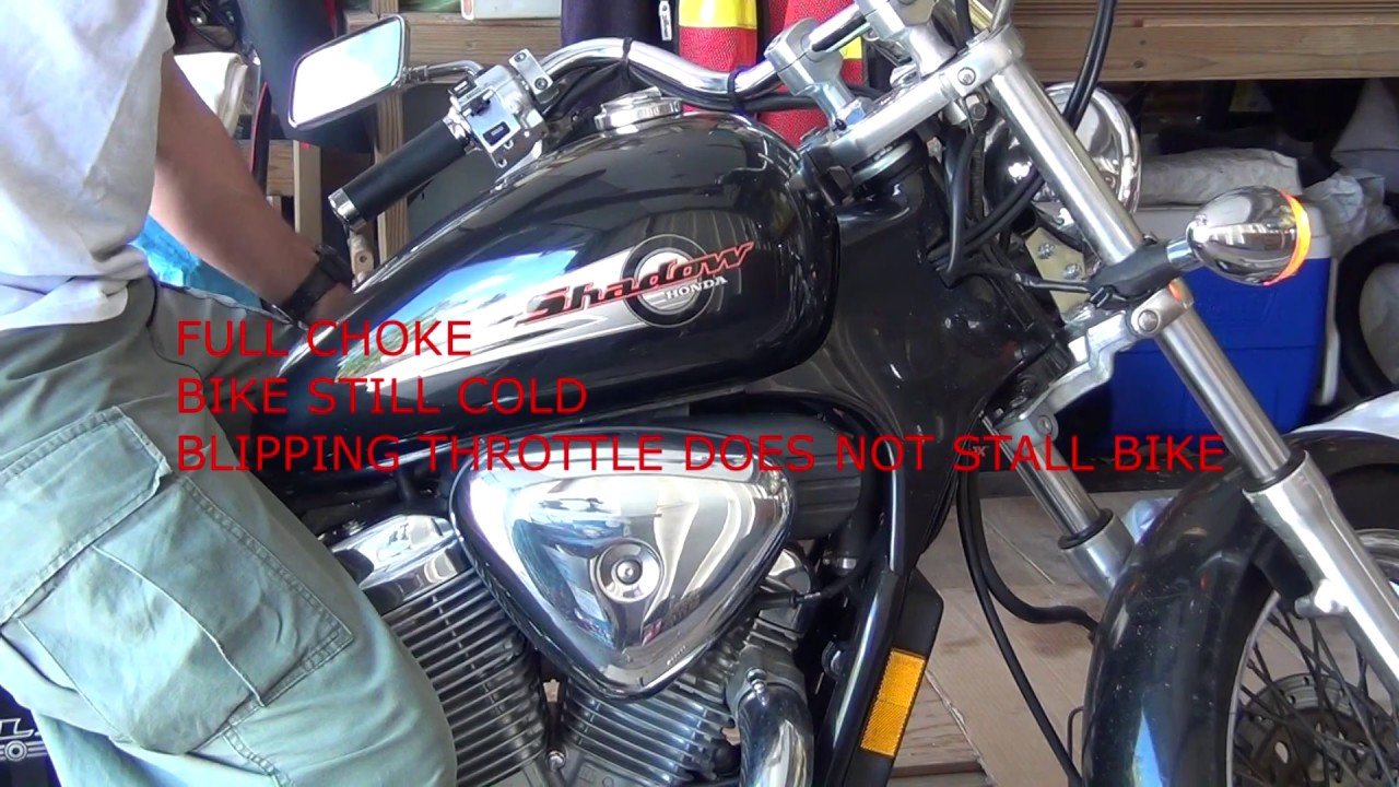 2001 Honda Shadow VLX Deluxe Carburetor Troubleshooting (cont)