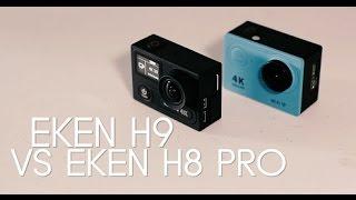 Eken H8 Pro vs Eken H9 Comparison (Go Pro Killers?) [4K!]