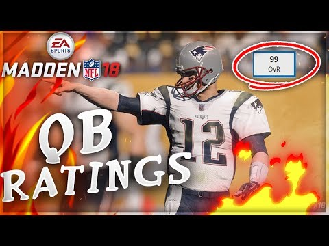 MADDEN 18 TOP 5 QB RATINGS RELEASED - F DAK PRESCOTT + CARR ROBBED?