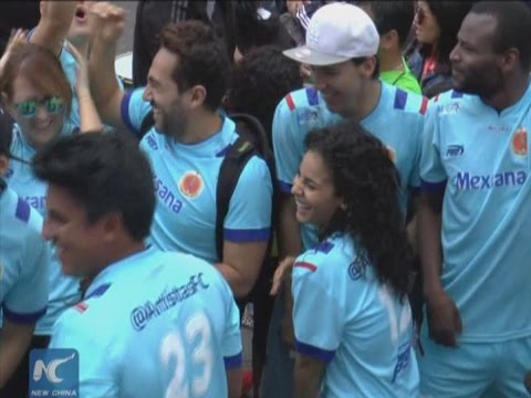 "Colombia launches ""Football and Peace"" program"