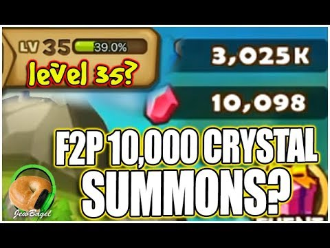 SUMMONERS WAR: 10,000 Crystals of F2P Summons + Account Giveaway?