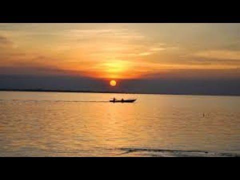 The Padma River in Bangladesh/ পদ্মা নদীর রাতের দৃশ্য!