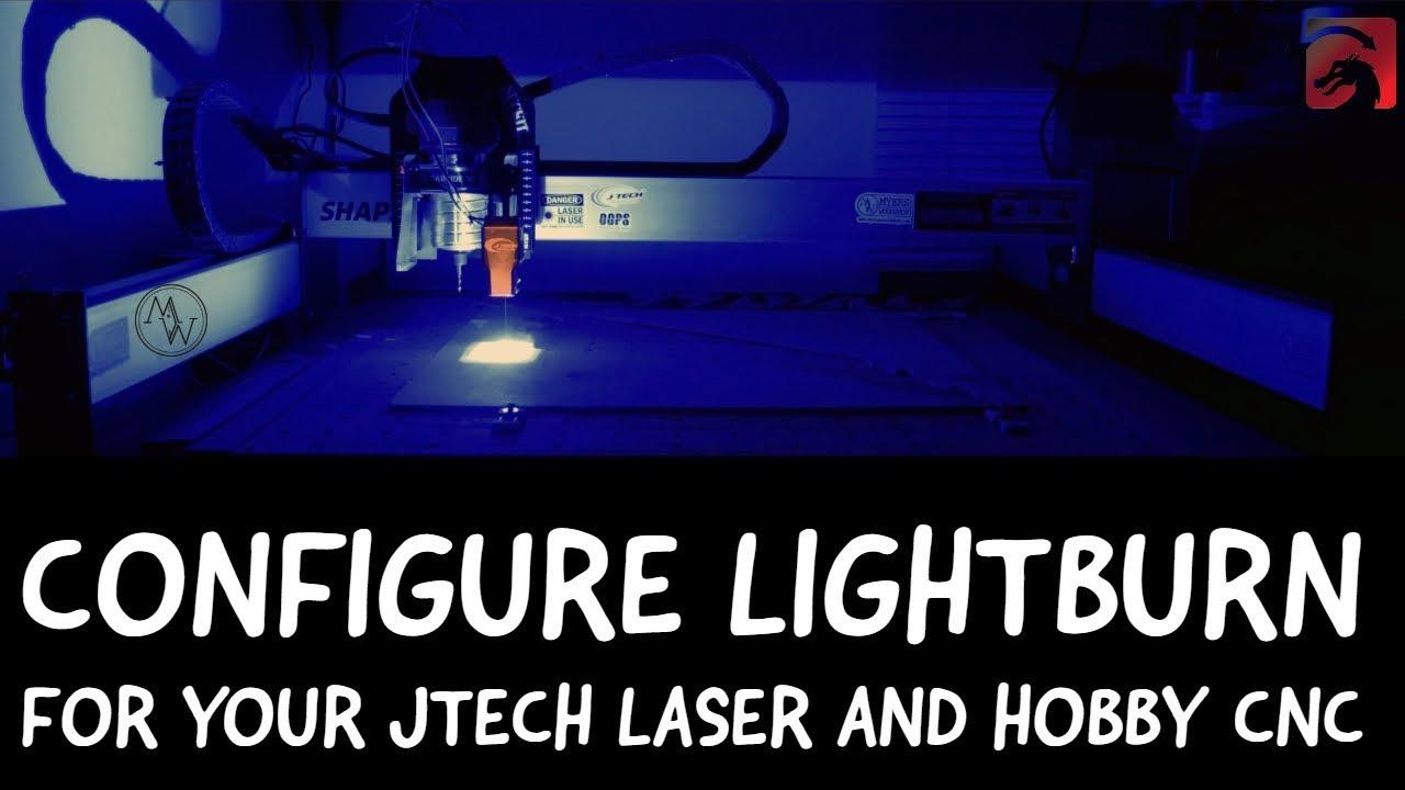 Using Lightburn on Shapeoko3 and X Carve Machines | J Tech