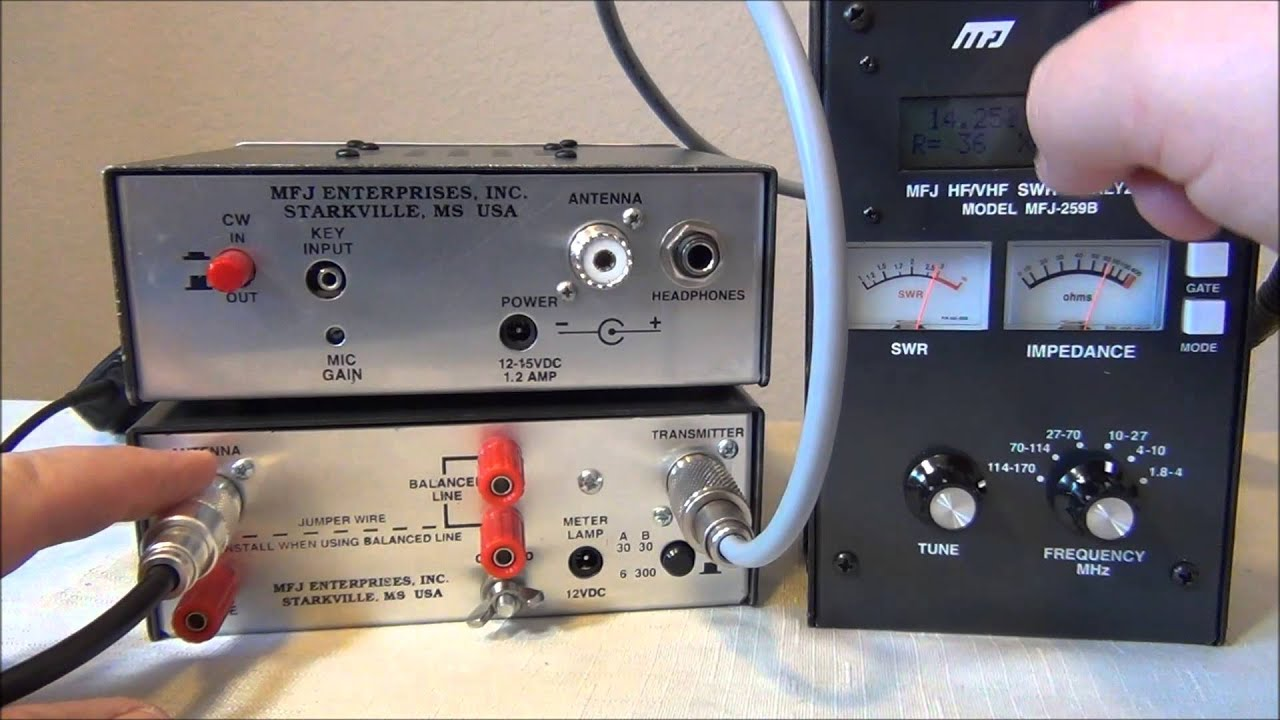 Use an Antenna Analyzer WITH your Manual Antenna Tuner for maximum results  - AF5DN