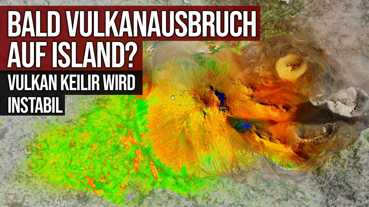 Bald Vulkanausbruch auf Island? - Vulkan Keilir wird instabil