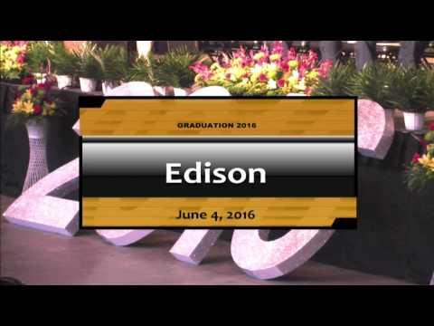 SAISD Class of 2016 Edison High School Graduation Live Stream