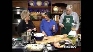 Peruvian Potato Cake With Prawns, Avocado, And Garlic Mayonnaise Causa Rellena | Kcts 9 Cooks