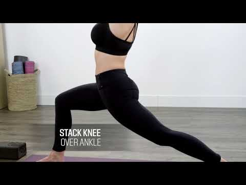 How to Do Crescent Lunge Pose