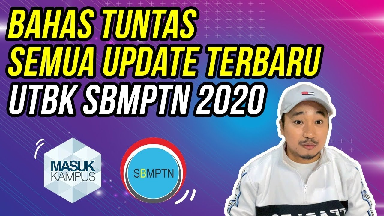 BAHAS TUNTAS UTBK SBMPTN TERBARU 2020 with INDRA SUGIARTO