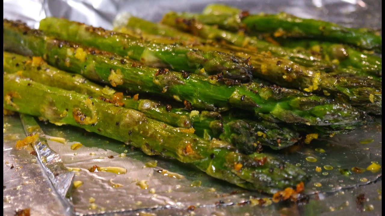 How To Make Oven-Roasted Asparagus - YouTube