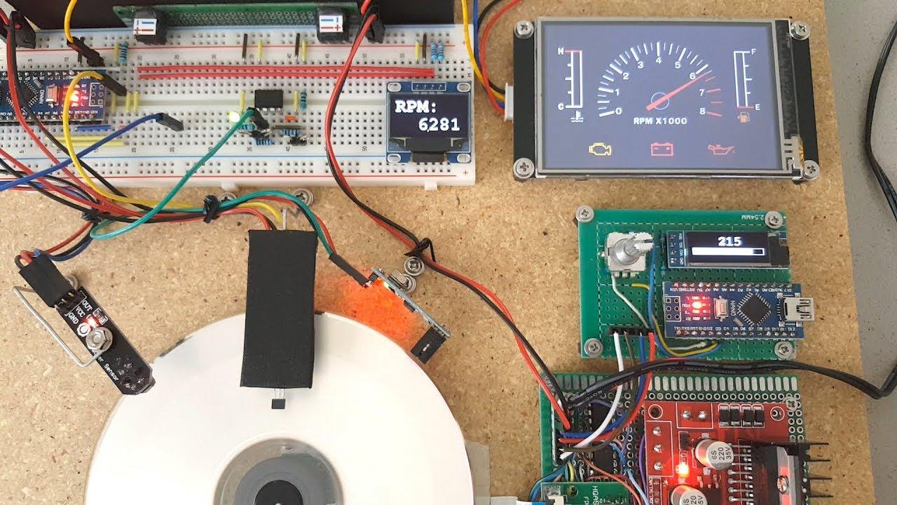 Arduino Tutorial: Tachometer (RPM Counter)