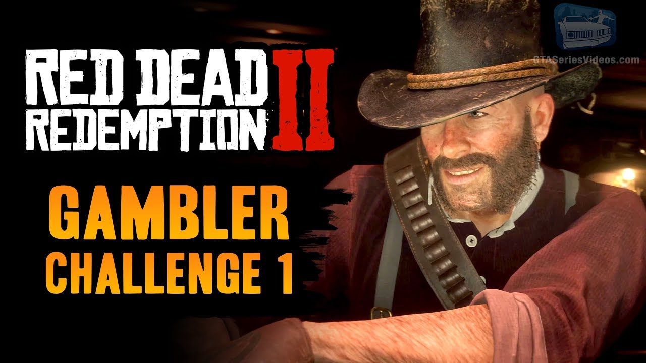 Red Dead Redemption 2 Gambler Challenge #1 Guide - Win 5 hands of Poker