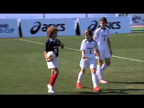 France vs Germany - 1/4 Final - Full Match - Danone Nations Cup 2015