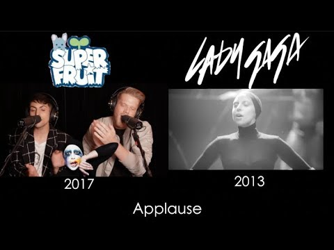 Evolution of Lady Gaga Side by Side
