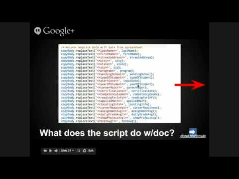 Using Google Scripts Without Being a Coding Expert