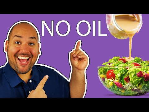 The Very Best Oil Free Salad Dressing You'll Ever Try!