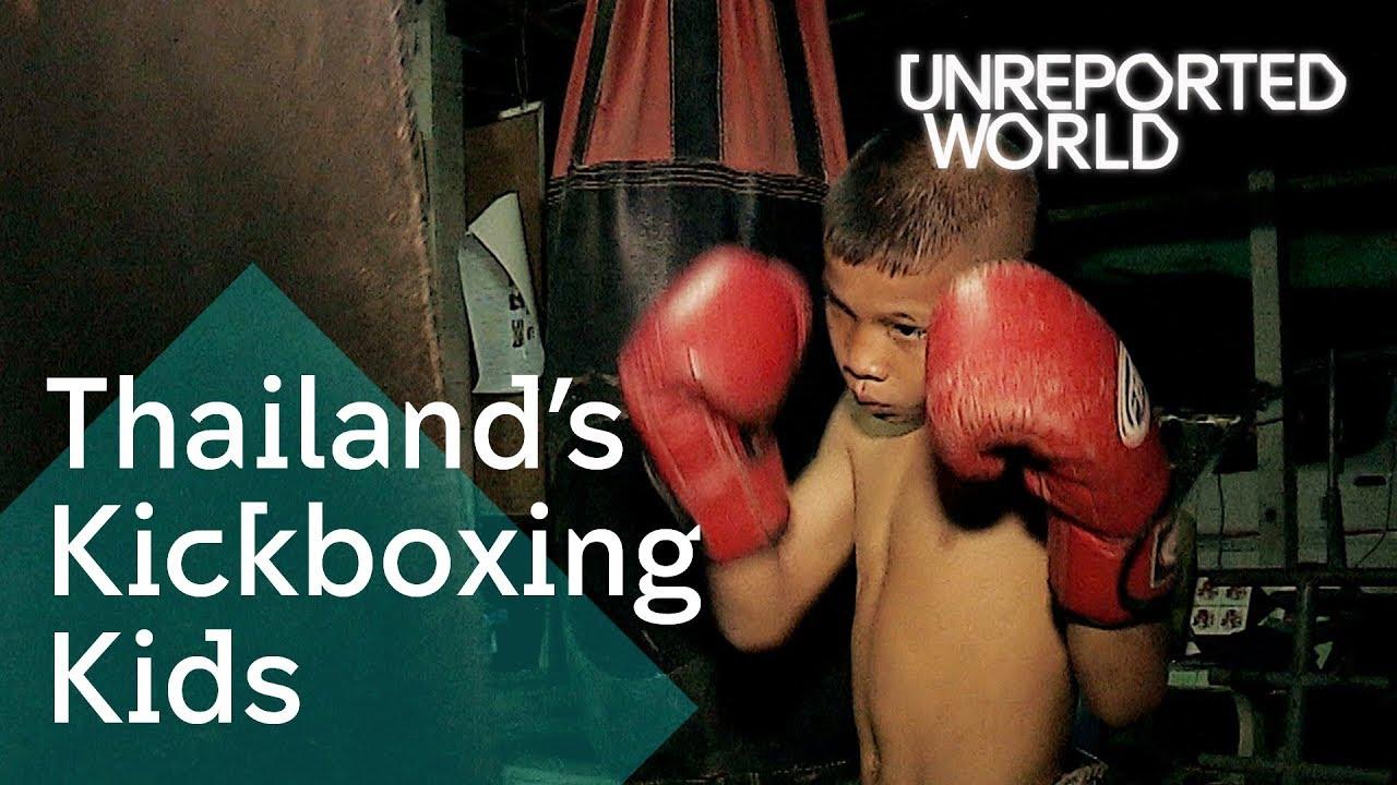 Muay Thai children fighting for cash | Unreported World