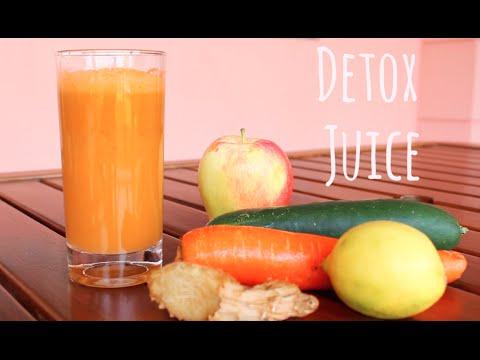 Healthy Detox Juice For Glowing Skin - Zaina Aguenaou