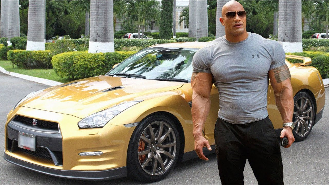 The Rock S Car Collections ★ 2018 Youtube