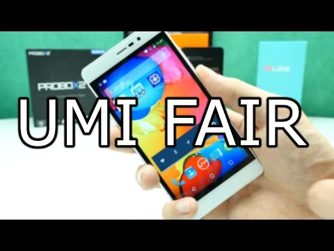 UMI Fair Review - Solid Budget Phone with Fingerprint Scanner ! [4K]