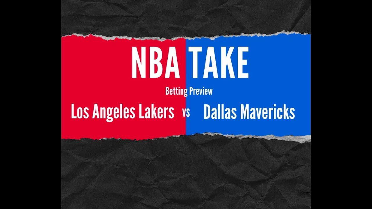 Nba Take Picking Lakers Vs Mavs As Lal Heads To Big D As