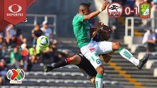 León ruge desde la cima | Resumen Lobos 0 - 1 León | Clausura 2019 - J10 | Televisa Deportes