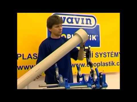 Технология сварки полипропиленовых труб Wavin Ekoplastik