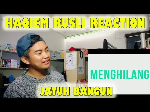 Haqiem Rusli - Jatuh Bangun Lyric MV Reaction