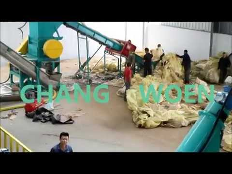 Algeria Agriculture Film LDPE Film Washing Line Made In Taiwan