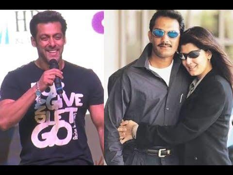 Azhar, Sangeeta Bijlani and Salman Khan : She wanted to make Salman jealous by being with Azhar.