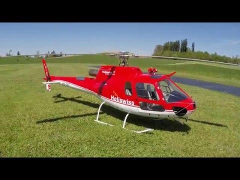 RC Ecureuil B3 Scale Turbine Jakadofsky Pro Edition Phal-Mechanics