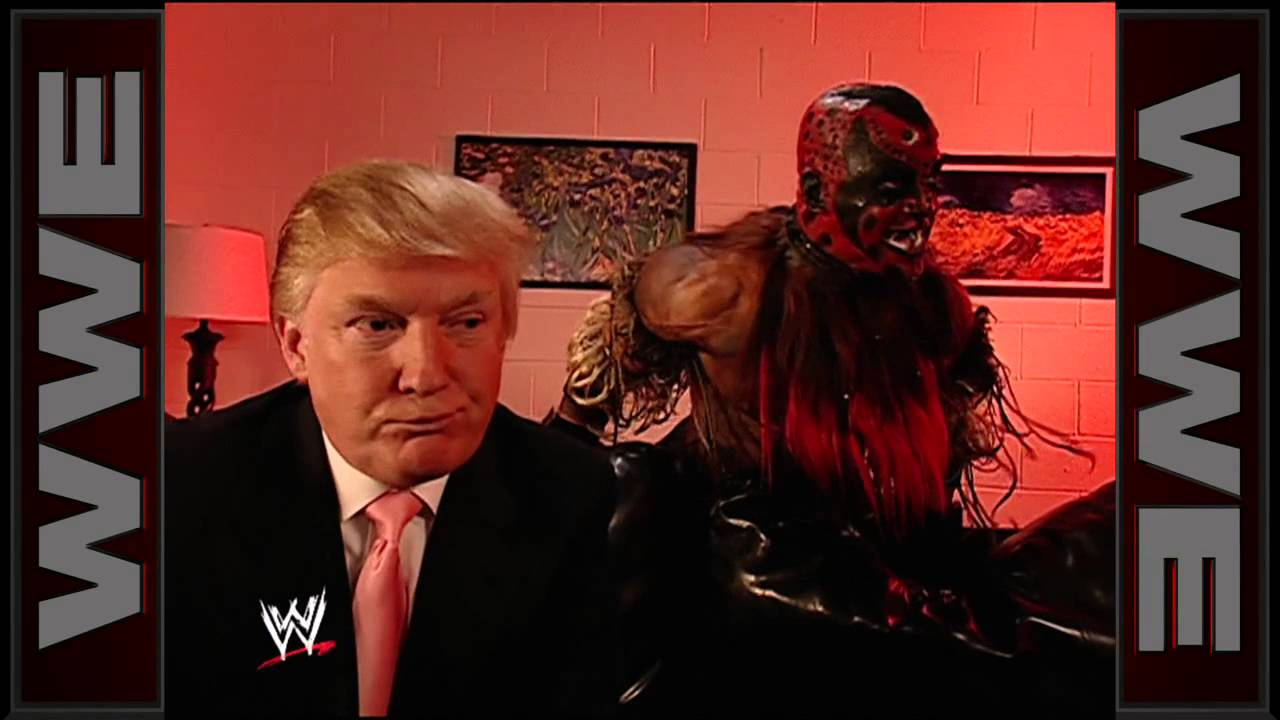 Download Donald Trump meets The Boogeyman: WrestleMania 23