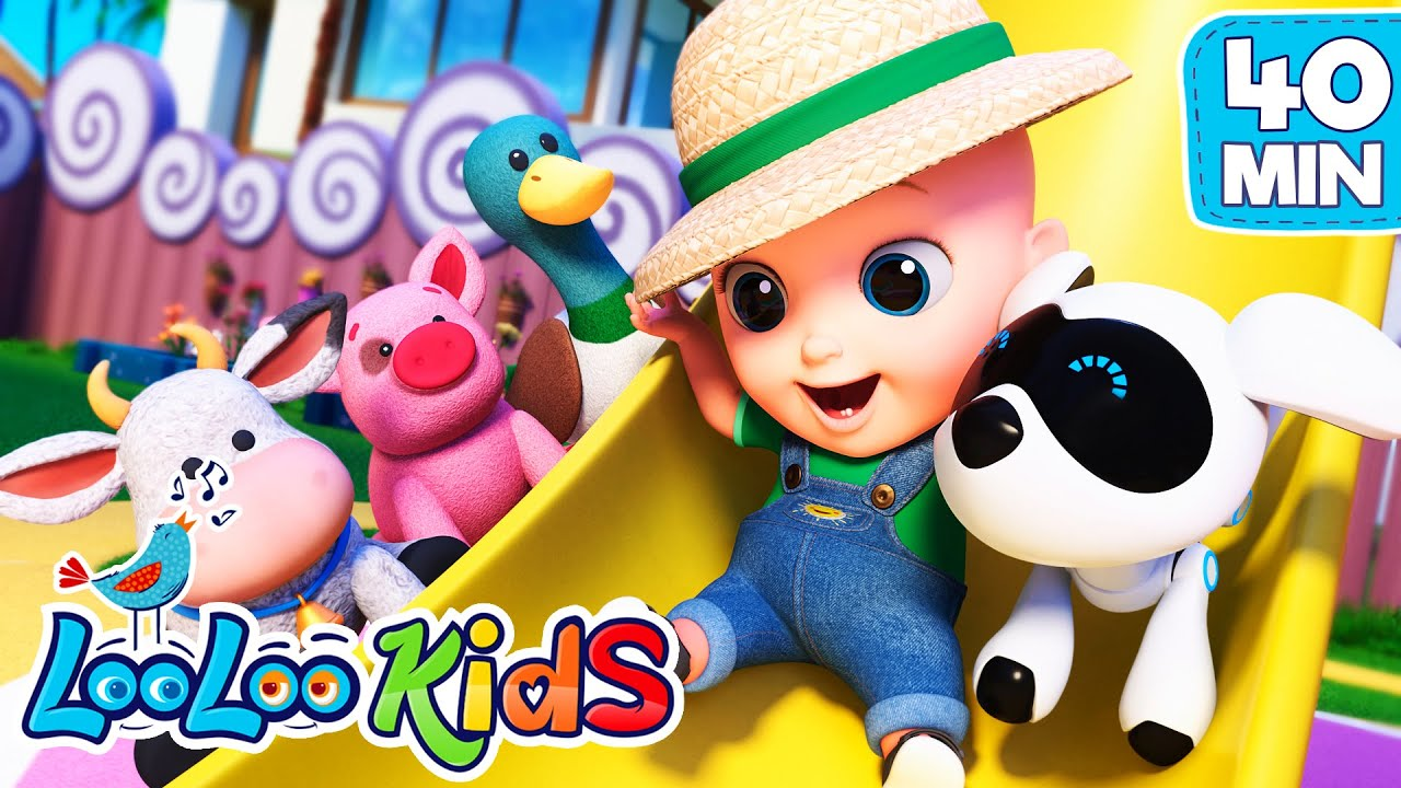 🚜Old MacDonald Had a Farm 🧑🌾 and more Kids Songs and Nursery Rhymes from LooLoo Kids