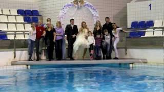 Свадьба в Челнинском дельфинарии