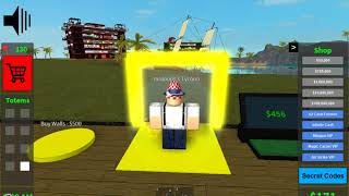 Tous les emplacements totem de l'argent facile! Roblox Blood Moon Tycoon Gameplay!