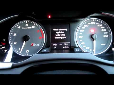 2012 AUDI S4 Interior & Engine Response