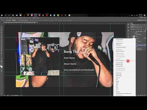YouTube Music Cover Art Design Turorial (CS6)