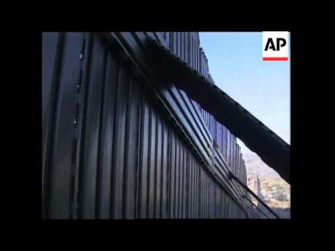 USA/MEXICO BORDER:  NEW CRACKDOWN ON ILLEGAL IMMIGRANTS