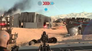 Star Wars Battlefront AT-ST Walking Glitch