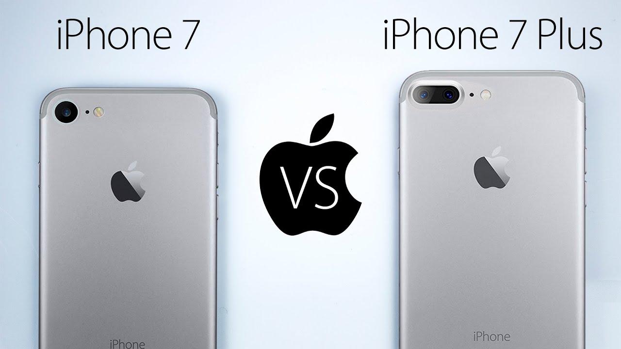 Iphone Plus Vs Iphone 7 Handling