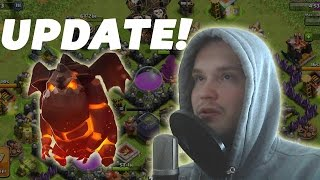 UPDATE! LAVA HOUND, MAUERN, LEVEL 7 TRUPPEN! || CLASH OF CLANS [Deutsch/German HD]