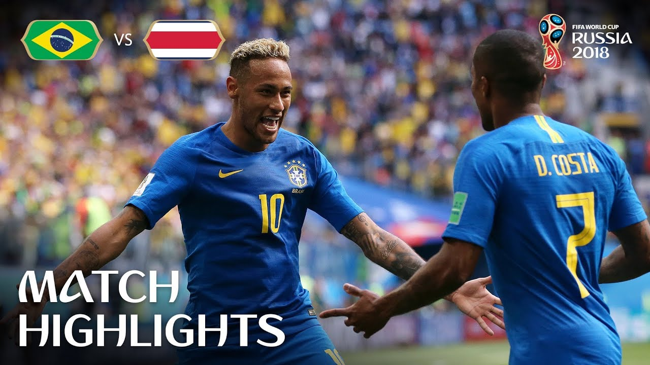 Brazil v Costa Rica - 2018 FIFA World Cup Russia™ - Match 25