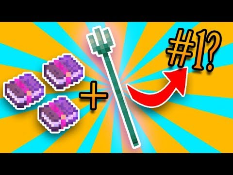 how to make a trident in minecraft