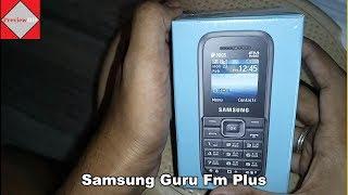 Samsung Guru FM Plus Dual SIM unboxing