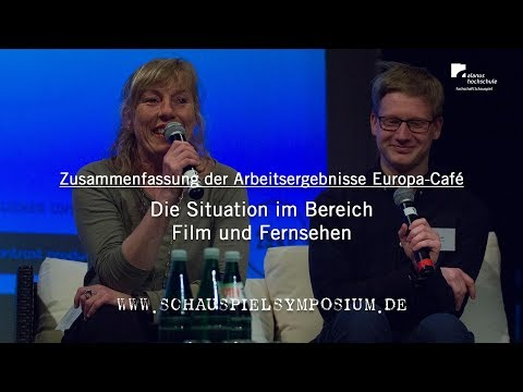 Europa-Café: 03 | Die Situation im Bereich Film und Fernsehen