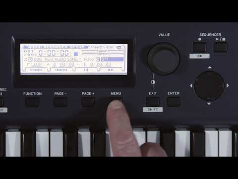 KROSS 2  Video Manual Part 7: Recording and Playing Audio