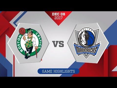 Dallas Mavericks vs. Boston Celtics - December 6, 2017