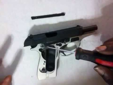 Bersa Thunder 380 Limp Trigger Fix Part 2