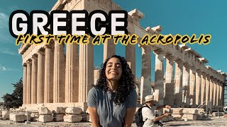 Gambar cover WE'RE IN ATHENS!   Visiting The Acropolis + Airbnb Tour